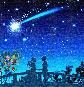 天の川×流れ星 七夕の夜